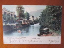 BAD KREUZNACH PARTIE AM KURPARK DOS 1900 - Bad Kreuznach