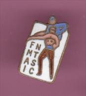46193-Pin's .Patinage.FMAI NTSC. - Pattinaggio Artistico