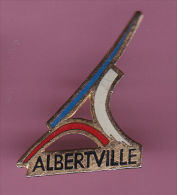 46194-Pin's .Patinage.jeux Olympique Albertville.. - Patinage Artistique