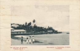 ANTILLES - TRINIDAD - TOBAGO - On The Way To School - Trinidad