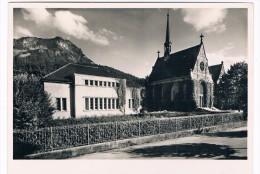 CH3392      BRUNNEN : Reformierte Kirche Und Gemeindehaus - SZ Schwyz
