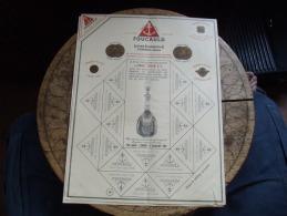 Ancienne Facture  Lot De 2 Foucault Cognac Document Commercial - 1900 – 1949