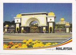 Malaysia 2010 Postcard  Main Entrance The National King Palace Yang Dipertuan Agong At Kuala Lumpur - Malaysia
