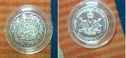 Malaysia 2010 1 Dirham Silver Kelantan 1 Dirham .999 Silver Coin - Malaysia