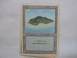 Magic The Gathering Island Land - Jeux De Société