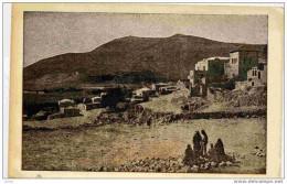 -PALESTINE-LE VILLAGE DE SYCHAR -ET LE MONT GERIZIM-animée-années 30 - Palestine