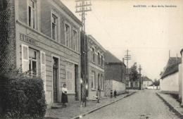 BELGIQUE - BRABANT WALLON - TUBIZE - SAINTES - Rue Dela Favelotte (Estaminet). - Tubeke
