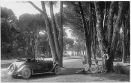 "01923 ""AUTO TORPEDO ANNI '30"" ANIMATA.  FOTOCARTOLINA ORIGNALE. - Automobili"