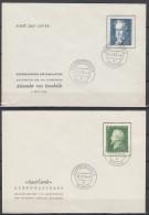 Saarland Lot 9 FDC Ansehen !!!!!!!!!!!! - Briefmarken
