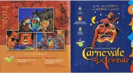 CARNEVALE ACIREALE(CATANIA) SICILY 2014-PROGRAMMA-CARNIVAL-CARNAVAL- - Carnival