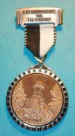 Volksmarch - Medal - 1985 - 9.int. Volkswandertage TSG Plankstadt - Merkur Temple - Allemagne