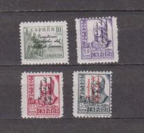 Guinea 1939 Edifil 256/9 Habilitado,nuevo,completa - Republikanische Ausgaben