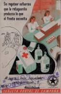 GUERRA CIVIL - TARJETA POSTAL DE CAMPAÑA - 1931-50 Briefe U. Dokumente