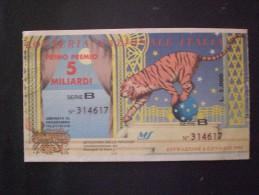 BIGLIETTO LOTTERIA  NAZIONALE ITALIA 1994 - Biglietti Della Lotteria