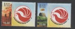 SRI LANKA ,2013, MNH,PERSONALIZED STAMPS, FISHERMEN, LANDSCAPE, 2v - Unclassified