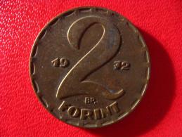 Hongrie - 2 Forint 1972 3310 - Hongrie