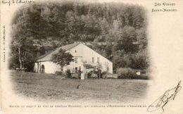 CPA - SAINT-NABORD (88) - Aspect En 1900 De La Maison Ou Naquit Le Général Humbert - Saint Nabord