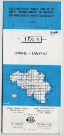 Topografische Kaart - Carte Topographique - 17/3-4 Lommel - Overpelt - Topographical Maps