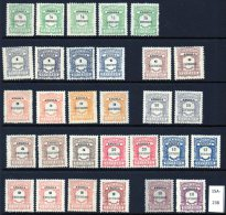 Angola : A Range Of 'Centavos' Currency Postage Dues, Showing Major Shades. Mint (30)