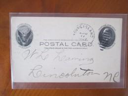 Entiers Postaux Etats Unis Divers Rare - ...-1900