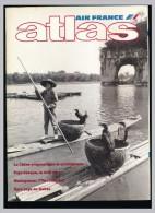 Revue Mensuelle ATLAS De La Compagnie AIR FRANCE  Août 1987 Chine Pays Basque Madagascar Pays De Galles - Livres, BD, Revues