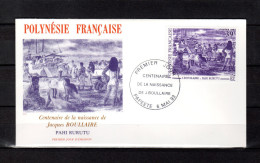"""Enveloppe 1er Jour De 1993 """" OEUVRE DE J. BOULLAIRE ..."""". N° YT 434. Parfait. état. FDC"""
