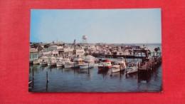 - Maryland> Ocean City Dock Scene -------    -ref 1915 - Ocean City