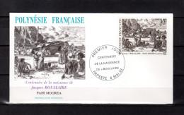 """Enveloppe 1er Jour De 1993 """" OEUVRE DE J. BOULLAIRE ..."""". N° YT 432. Parfait. état. FDC"""