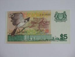 5 FiveDollars 1976 - SINGAPORE  **** EN ACHAT IMMEDIAT **** - Singapour