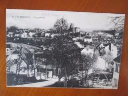 PHALSBOURG  VUE GENERALE - Phalsbourg