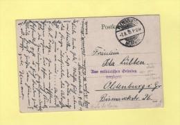 Flensburg - Murwik - Carte Ecrite A L Ecole De Marine - Marineschule - 1915 - Retarde Pour Raisons Militaires - Allemagne