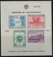 Colombia  1955 SC 637a MNH Merchant Fleet - Colombia