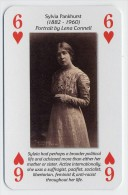 Play Card - Votes For Women - Sylvia Pankhurst - Playing Cards (classic)