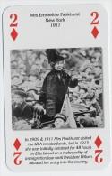 Play Card - Votes For Women - Mrs. Emmeline Pankhurst, New York, 1911 - Kartenspiele (traditionell)