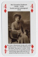 Play Card - Votes For Women - Mrs. Emmeline Pankhurst - Kartenspiele (traditionell)