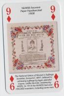 Play Card - Votes For Women - NUWSS Souvenir Paper Handkerchief 1908 - Kartenspiele (traditionell)