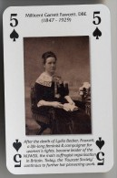 Play Card - Votes For Women - Millicent Garrett Fawcett, DBE - Kartenspiele (traditionell)