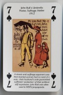Play Card - Votes For Women - John Bull's Umbrella Poster - Kartenspiele (traditionell)