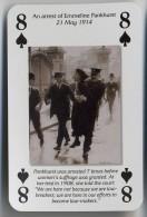 Play Card - Votes For Women - An Arrest Of Emmeline Pankhurst - Kartenspiele (traditionell)