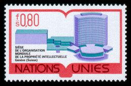 United Nations Geneva, 1977, World Intellectual Property Organization, WIPO, Michel #63, Scott #64, MNH, Perforated S... - Unclassified