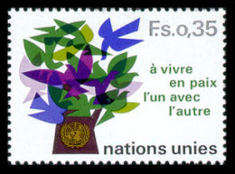 United Nations Geneva, 1978, Definitive, Michel #72, Scott #73, MNH, Perforated Stamp - Unclassified