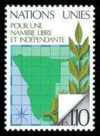 United Nations Geneva, 1979, Namibia, Michel #85, Scott #86, MNH, Perforated Stamp - Unclassified