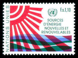 United Nations Geneva, 1981, Renewable Energy Sources, Michel #100, Scott #102, MNH, Perforated Stamp - Unclassified