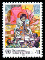 United Nations Geneva, 1986, Emergency For Africa, Michel #137, Scott #140, MNH, Perforated Stamp - Unclassified