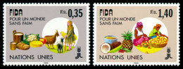 United Nations Geneva, 1988, International Fund For Agricultural Development, IFAD, Michel #162-163, Scott #162-163, ... - Unclassified