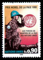 United Nations Geneva, 1989, Nobel Peace Prize For UN Peacekeepers, Michel #175, Scott #175, MNH, Perforated Stamp - Unclassified
