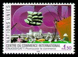 United Nations Geneva, 1990, International Trade Center, Michel #182, Scott #182, MNH, Perforated Stamp - Unclassified