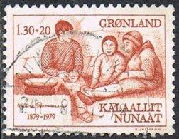 Greenland SG111 1979 Birth Centenary Of Knud Rasmussen 1k.30 +20ö Good/fine Used - Used Stamps