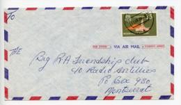 Netherlands Antilles 1978 Cover To Montserrat (E219) - Niederländische Antillen, Curaçao, Aruba