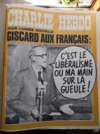 Charlie Hebdo 1976 - Année Complète 53 Numéros Du N°268 Au N°320 Avec Reliure - Humour